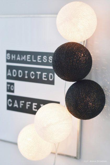 bombažne lučke črnobele