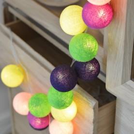 bombažne lučke pisana mavrica