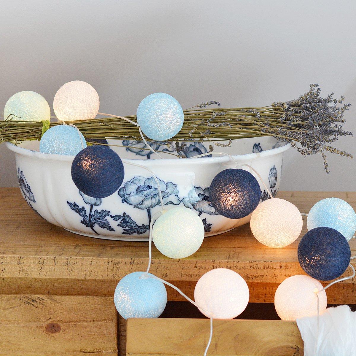 bombažne lučke plemenita modra