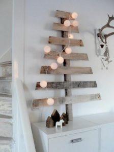 bombažne lučke bele božič