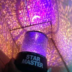 projektor zvezdice