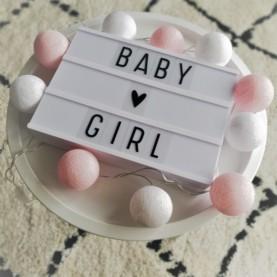 bombažke baby girl hanksome najin dom