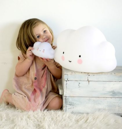little lovely company white cloud nightlight nočna lučka oblak