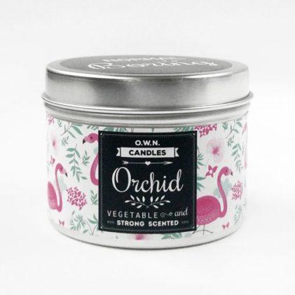 potovalna dišeča svečka own candles orhideja