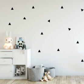 stenske nalepke črni trikotniki