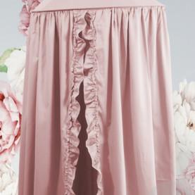 baldahin z volančki roza