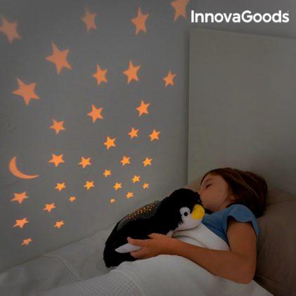 plišasta igračka projektor pingvin