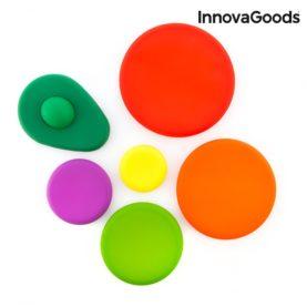 set silikonskih pokrovčkov za živila