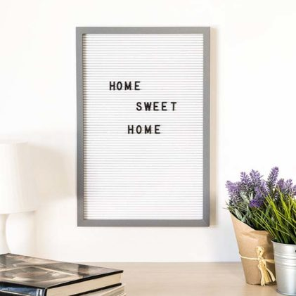 letter board tabla 30x45 cm