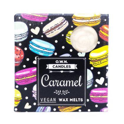 dišeči voski own candles caramel
