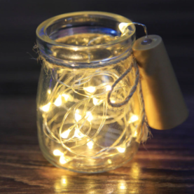 Okrasna LED veriga za steklenico