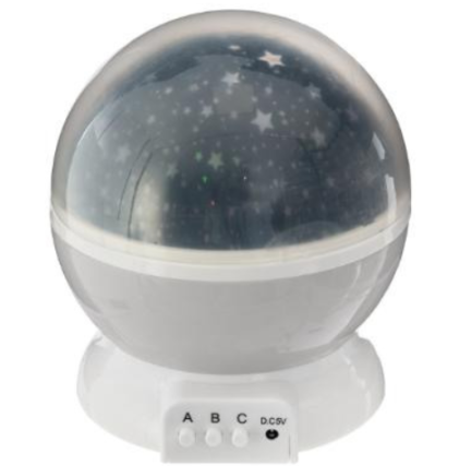 Nočni projektor 360°