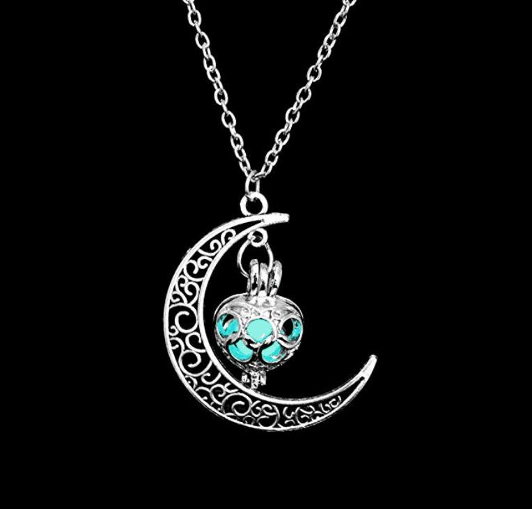 ogrlica lunin sij glow in the dark
