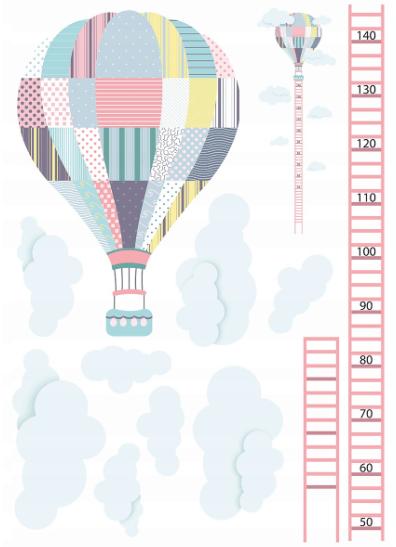 stenska nalepka balon