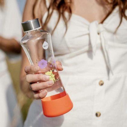 steklenička equa poppy flowerhead