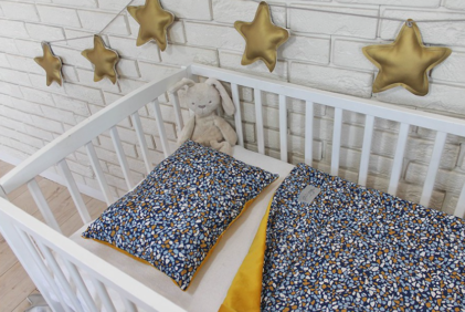topla žametna posteljnina kamenčki
