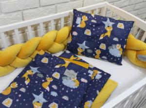 topla posteljnina za dojenčke lisička