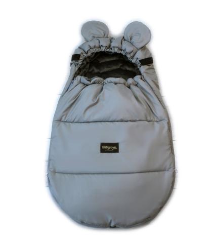zimska vreča miki miška siva