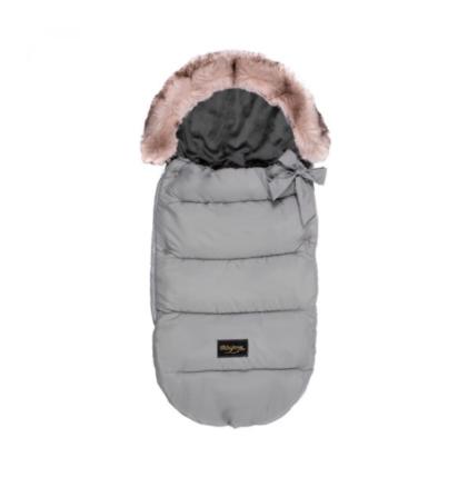 zimska vreča baby love svetlo siva