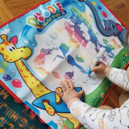 water doodle mat
