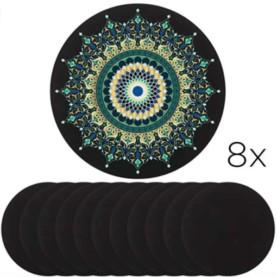 mandala podlage za ustvarjanje črne